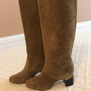 Lanvin brown suede boots, 41